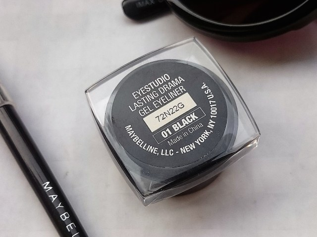 maybelline gel liner black 6