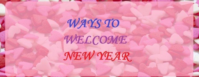 ways towelcome new year