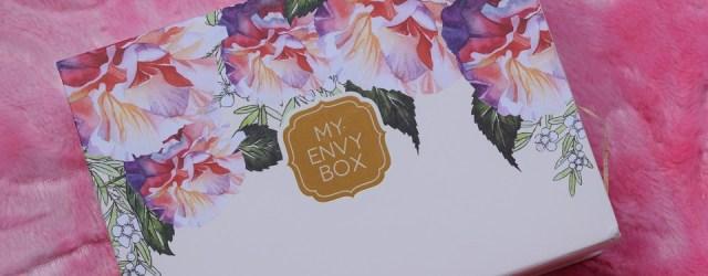 my envy box march 2017