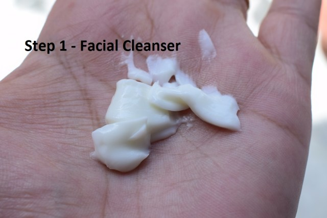 Step 1 - Facial Cleanser