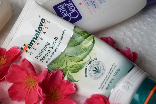 Best Skin Care Product Acne Prone Skin - Himalaya Herbals Neem Scrub
