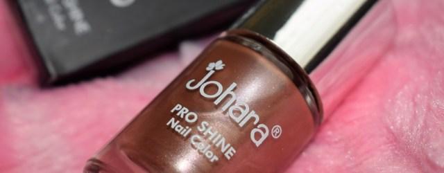 Johara Pro Shine Nail Color Toffee Brown (5)