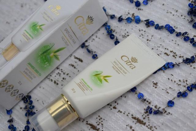 Citra Spot Less Fair Face Cream With Green Tea