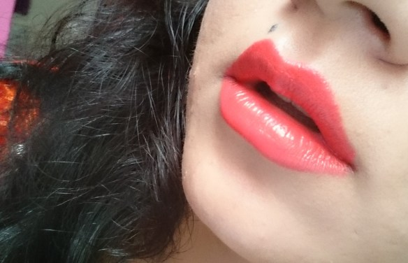 Colorbar Feel The Rain Matte Lipstick in Thunder - Lip Swatch