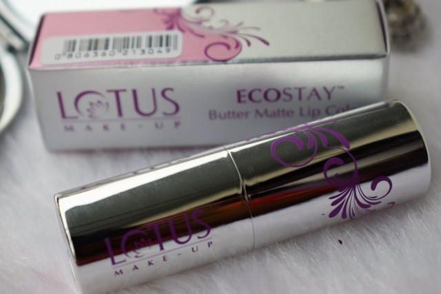 Lotus Make-Up ECOSTAY Butter Matte Lip Color Pink Petal (2)