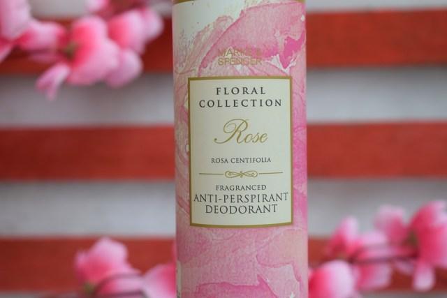 Marks & Spencer Floral Collection AntiPerspirant Deodorant Rose (3)
