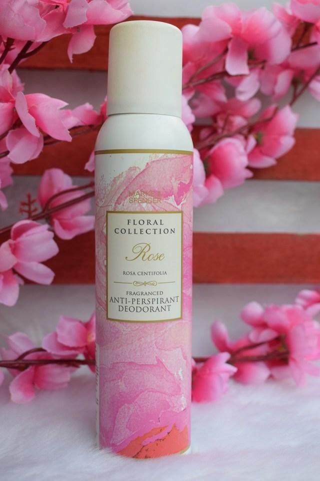 Marks & Spencer Floral Collection AntiPerspirant Deodorant Rose