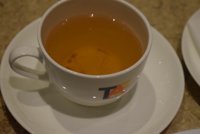 Ultra Delicious Cinnamon Green Tea At TAF