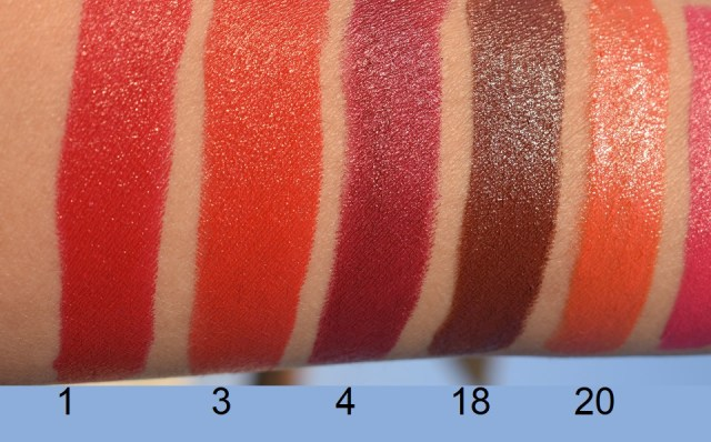 NELF 9am To 6pm All Day Long Lipstick - Swatches (2)