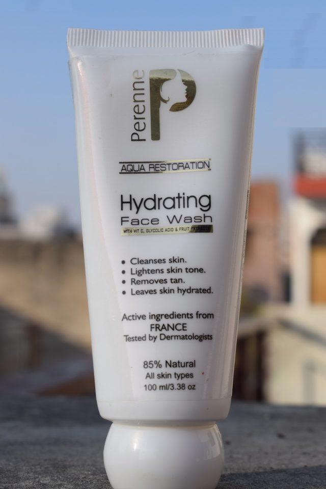 Perenne Aqua Restoration Hydrating Face Wash