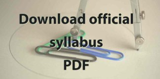 Download official syllabus PDFs