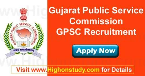 Gujarat PSC Recruitment