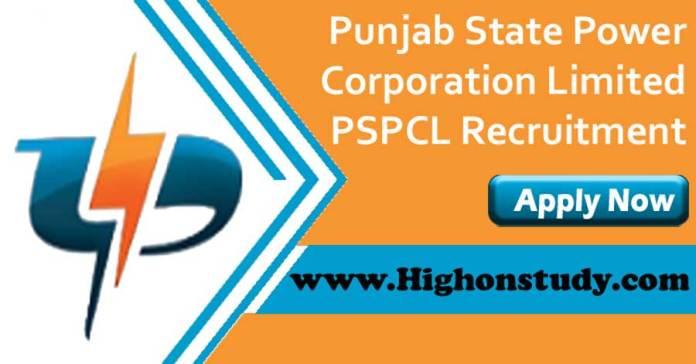 Punjab State Power Corporation Limited Recruitment 2019