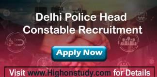 Delhi Police jobs