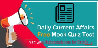 Daily current affairs quiz free