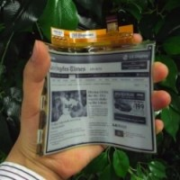 LG First To Release A Bendable E-Ink Display...
