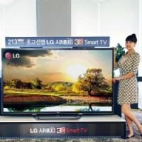 LG's 84LM9600 LED TV.  The 84 Inch 4K TV to go on sale...