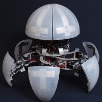 MorpHex the Incredible Rolling Tumbling Walking Spherical Robot...