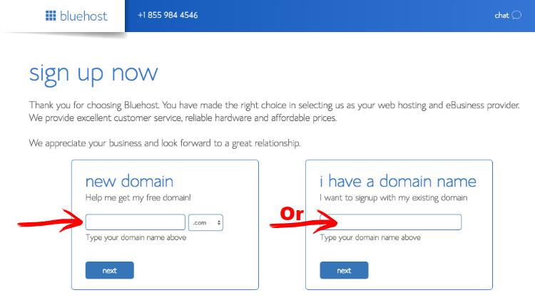 bluehost affiliate website screenshot 3