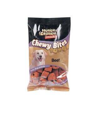 Dog Treat Chew Bites Beef Flavour MC0075