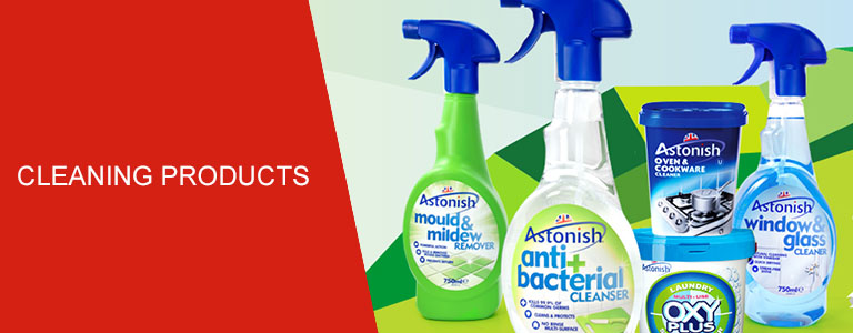 View our range of cleaning products