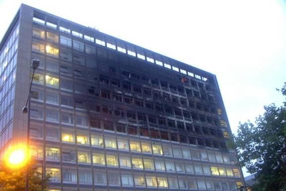 High Rise Fire Fighting Telstar House
