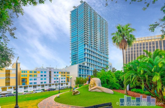 Vue At Lake Eola Condos Of Orlando Fl 150 E Robinson St