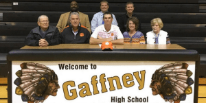 Zach Gordon, Gaffney Clemson