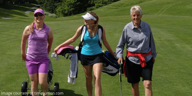 High school golf girls