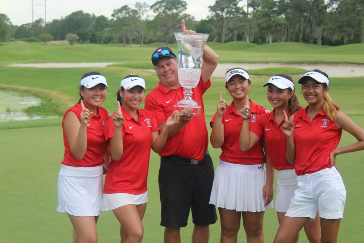 California girls win high school golf invitational