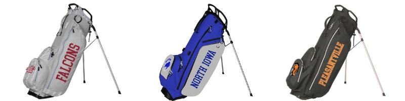 High school discount golf bags