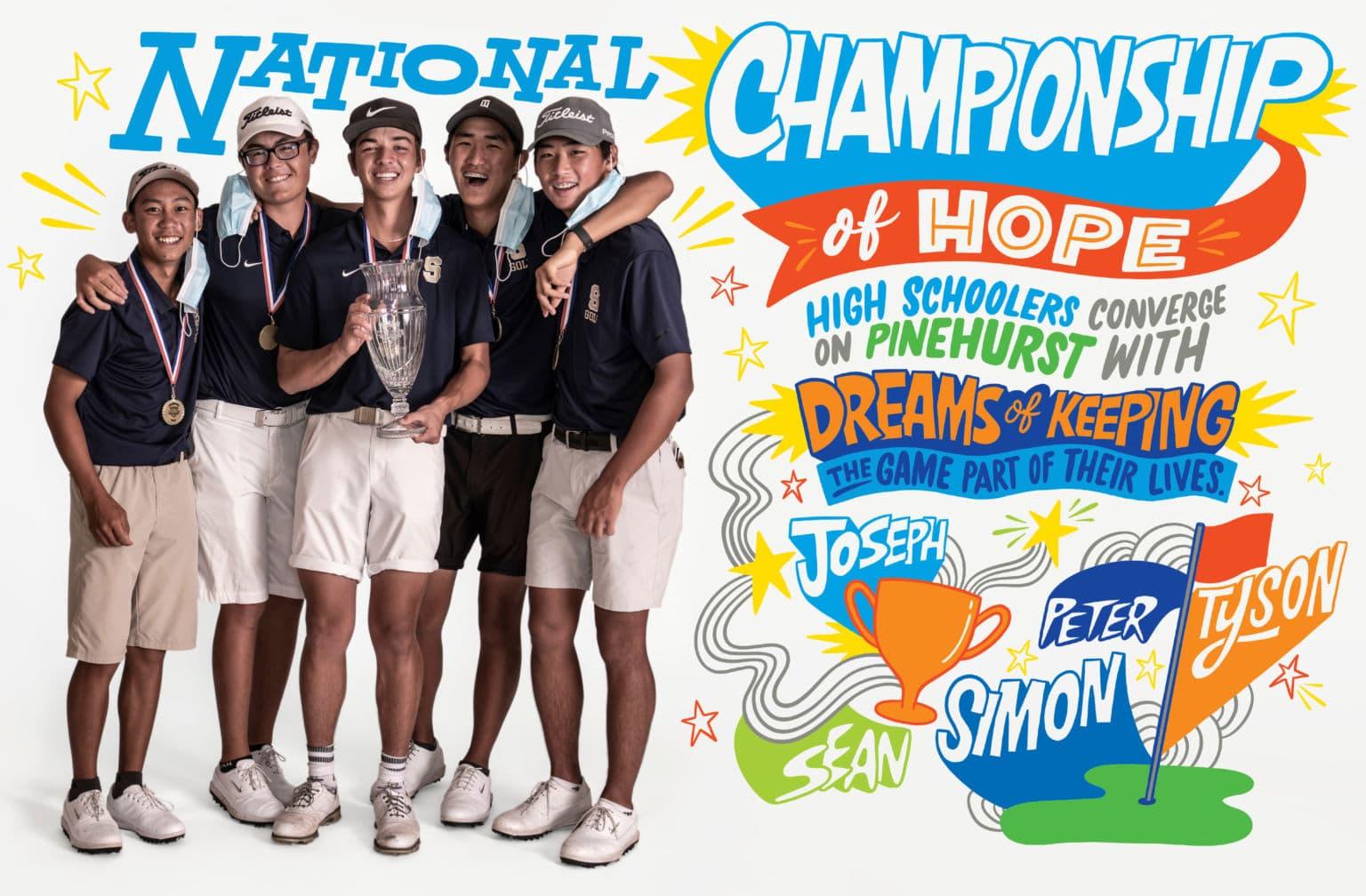 High School Golf National Championship in 2020