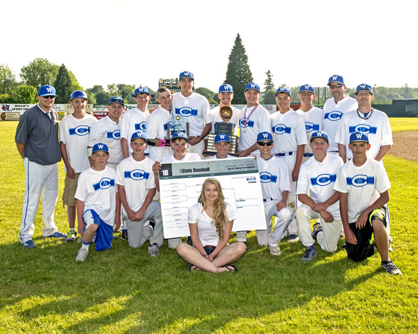 Colton High School Baseball State Championship Team 2014