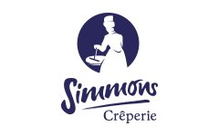 Simmons Creperie logo