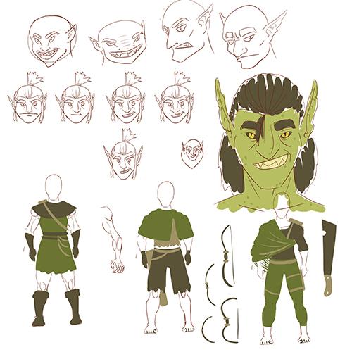 1227-grot-goblin-sketches