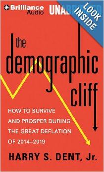 Harry Dent book - the demographic cliff