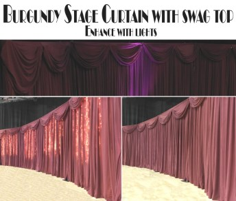 BURGUNDY STAGE STYLE