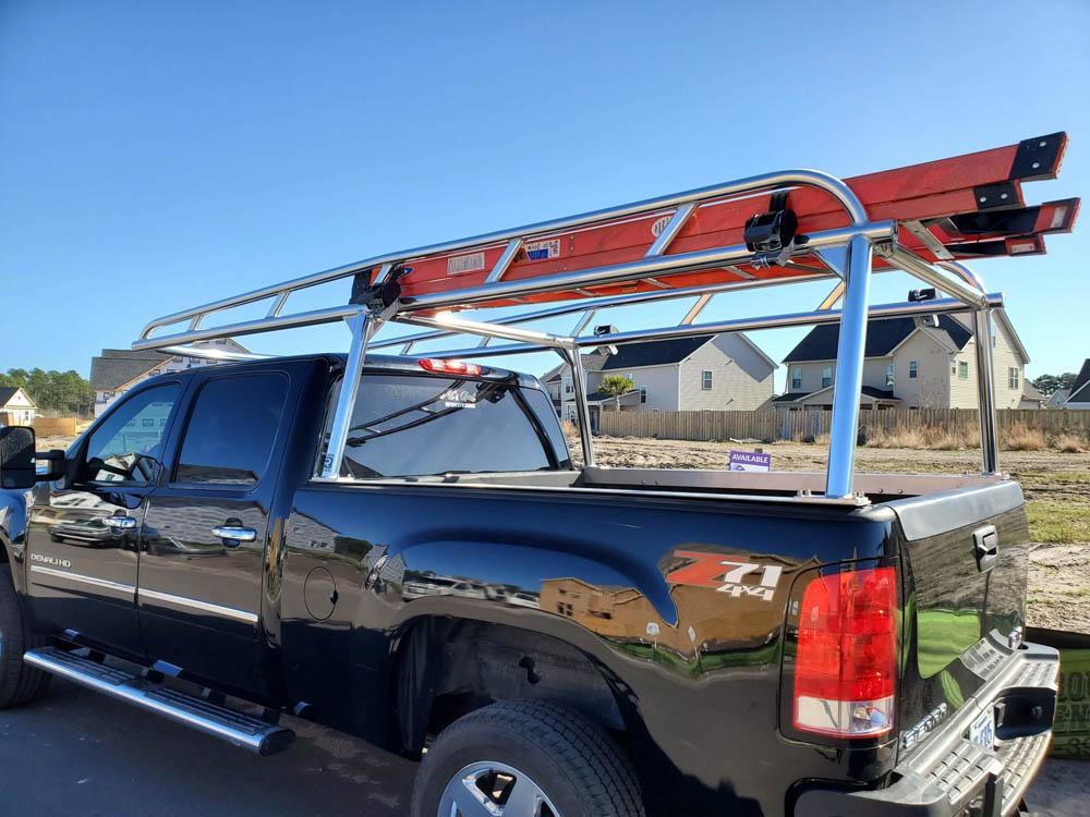 aluminum truck rack for pickup