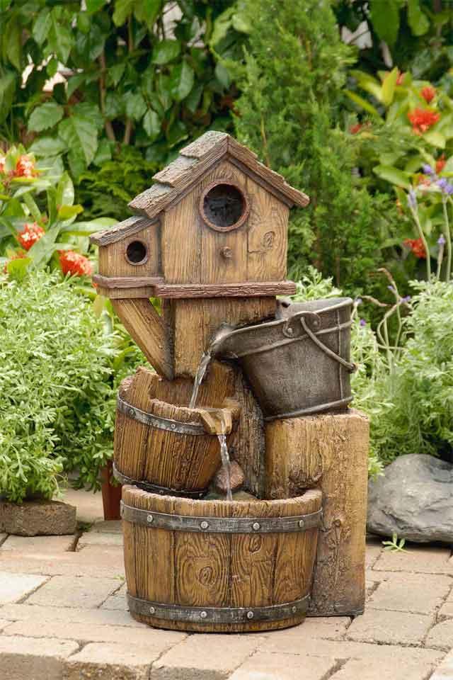 Handmade fountains on Home Garden Fountain Design id=56573