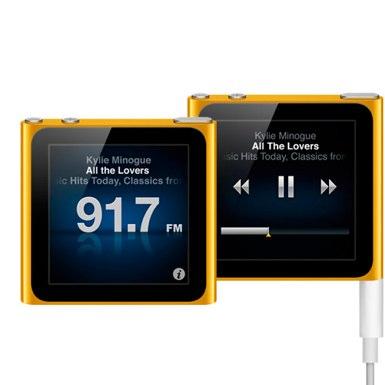 Apple iPod nano 2011 Radio