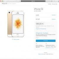 iPhoneSE 64GB Gold