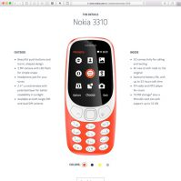 Nokia 3310 updated