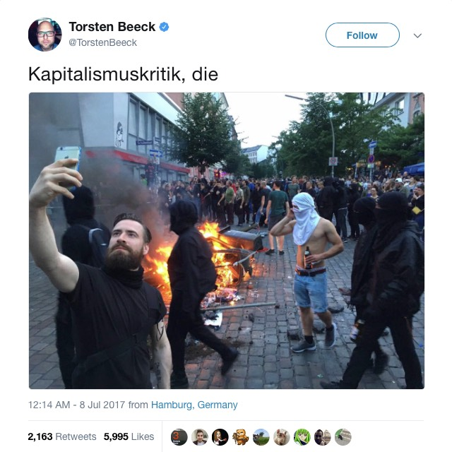 G20 Riot Hipster