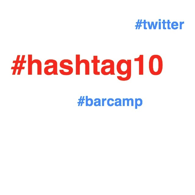 Happy Hashtag10 Twitter