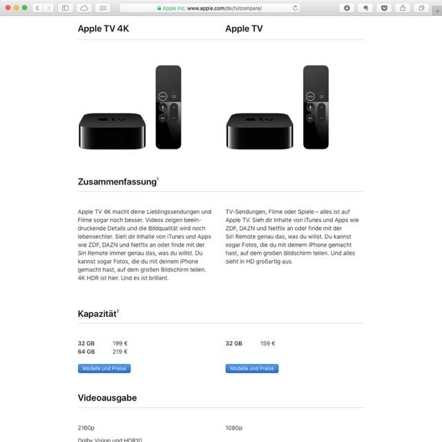 Apple TV 4K HDR