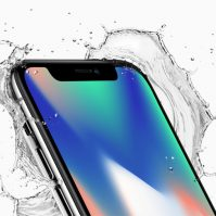 iPhone X wasserfest