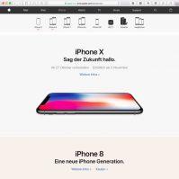 iPhone X bestellen