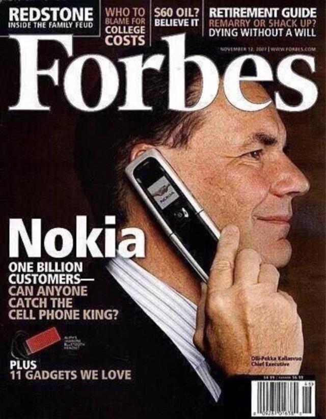 Forbes Magazine 2007