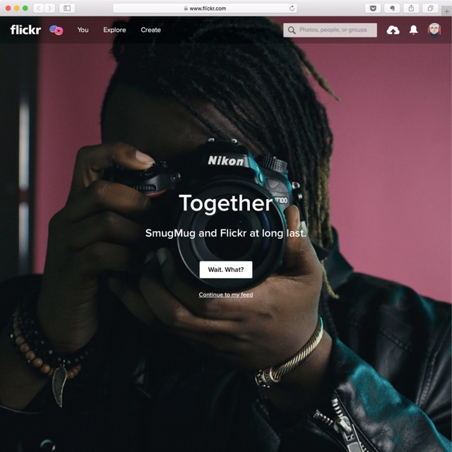 Yahoo verkauft die Foto-Community Flickr. SmugMug kauft es.