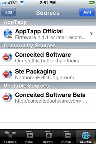 AppTapp Sources #2